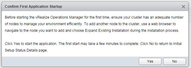 vrops deployment step 20