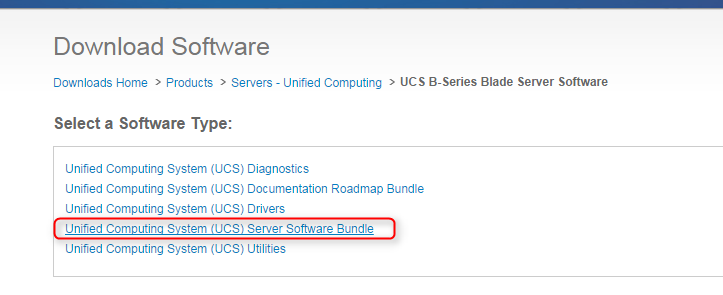 cisco ucs download software bundle