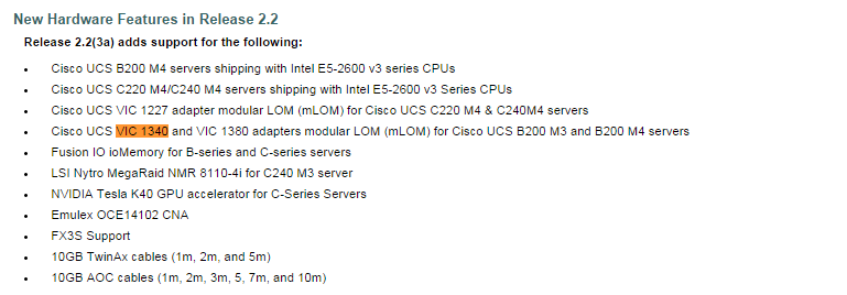 cisco ucs planning hardware requirements
