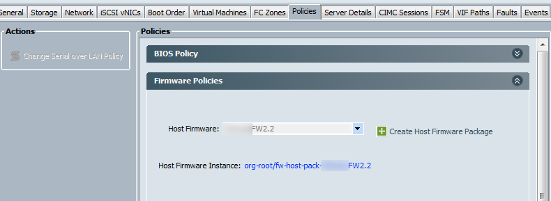 cisco ucs firmware upgrade activate host firmware
