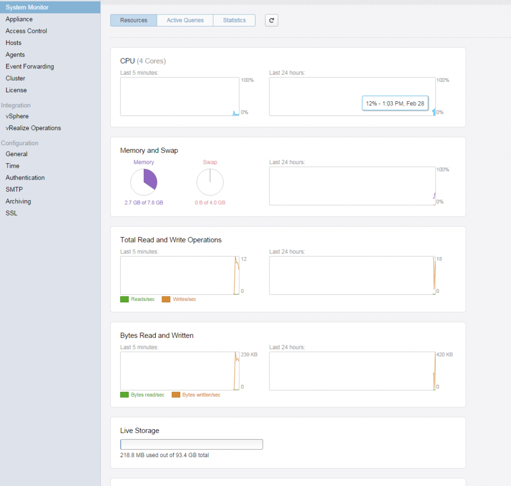 vrealize log insight installation step 29