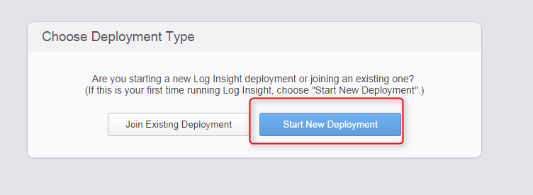 vrealize log insight installation step 18