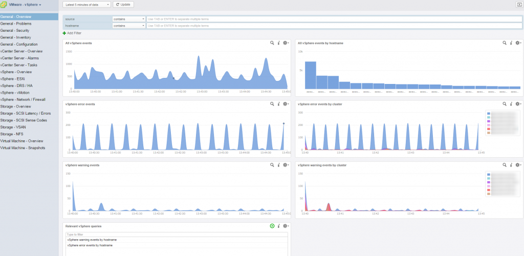 vrealize log insight interface 1