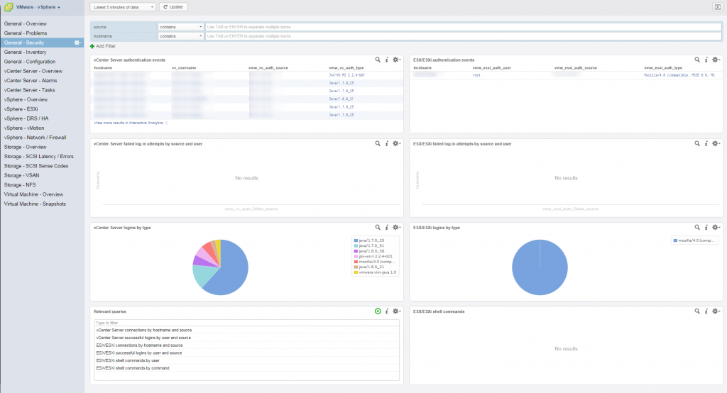 vrealize log insight interface 2
