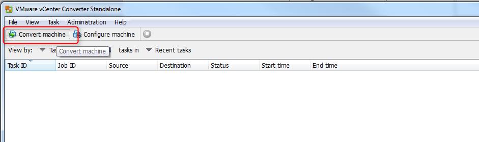 vCenter Server P2V Step 14