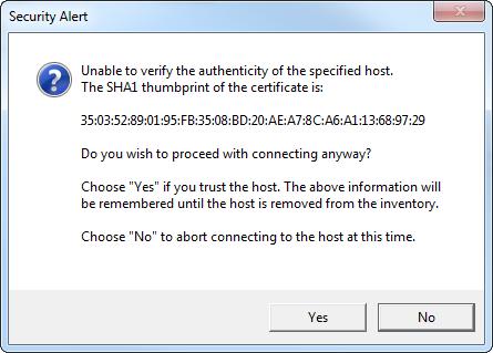 Add Host SSL