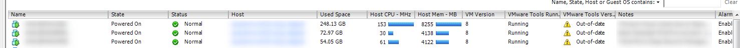 Upgrade VMware Tools Step 1