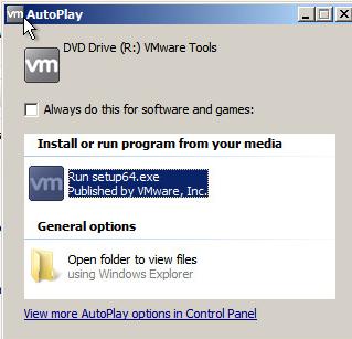 Upgrade VMware Tools Step 3