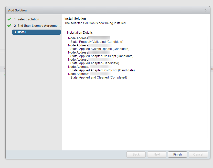 Blue Medora Netapp Management Pack Install Step 6