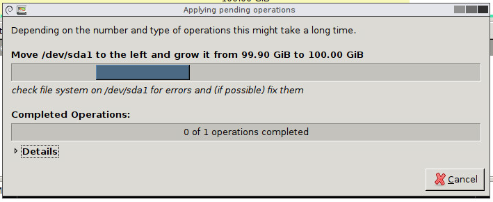 system-reserved partition removal step 17