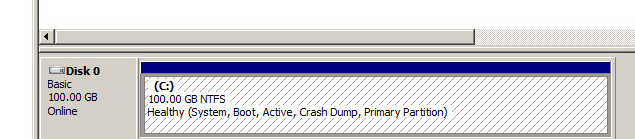 system-reserved partition removal step 32