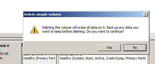 system-reserved partition removal step 4