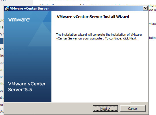 vcenter server upgrade step 3