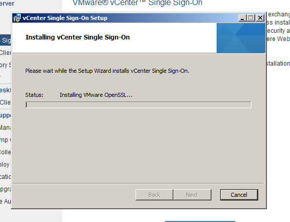 vcenter upgrade step 3