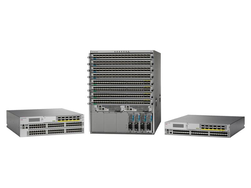 Cisco Nexus 9000 model range