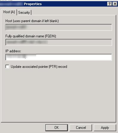 SRM Modify DNS