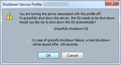ucs blade server graceful shutdown