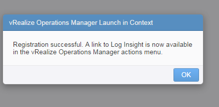 vrealize log insight installation step 27 part 2