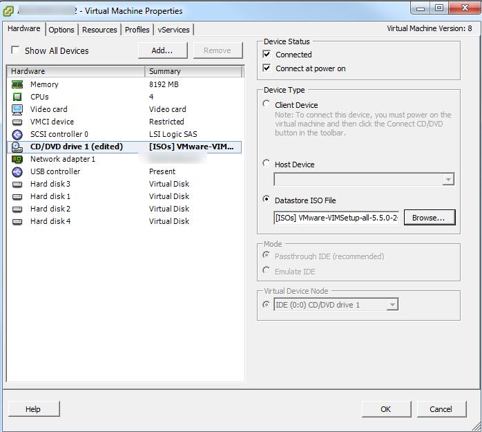 vCenter Upgrade SSO Upgrade Step 1