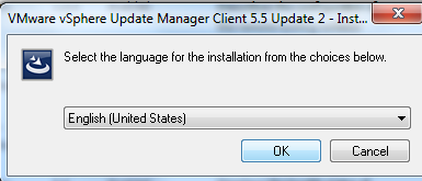 vCenter Update Manager installation Step 16