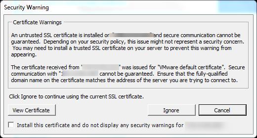 vCenter Update Manager installation Step 20