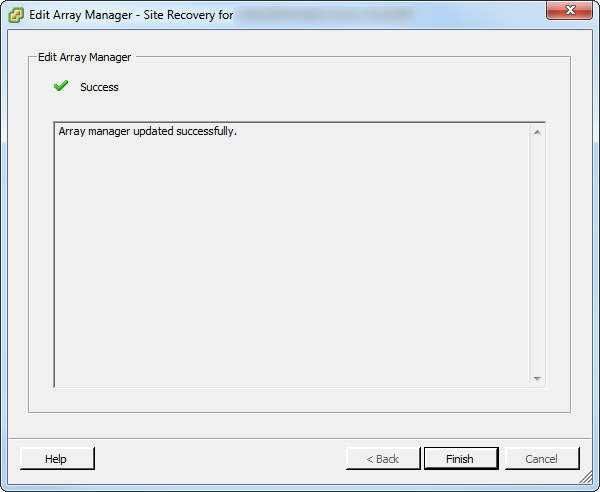 SRM Array Manager Complete