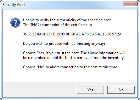 Add Host SSL