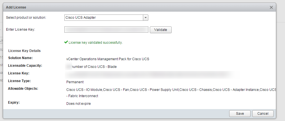 Blue Medora UCS Management Pack Install Step 7