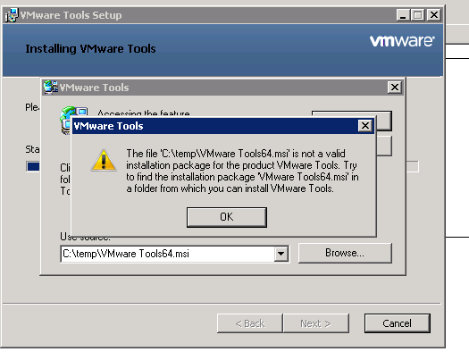 vmwaretools64-error